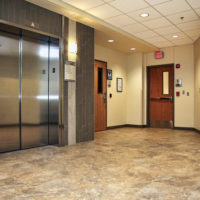 BD Construction Brodstone Memorial Hospital Elevator Lobby