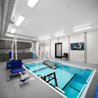 PT Pool at DCH built by BD Construction