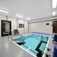 BD Construction DCH Benkelman Physical Therapy Pool