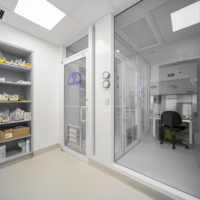 BD Construction DCH Clean Room/Pharmacy